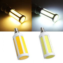 E14 7W White/Warm White COB LED Bulbs Corn Light AC 220V