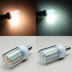 E14 8W 1300LM 60SMD 5730 LED Corn Light Bulb AC 110-130V