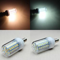 E14 8W 1300LM 60SMD 5730 LED Lampa AC 110-130V
