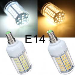 E14 8W 96 SMD5050 Warm White/White LED Corn Light Bulb 220-240V