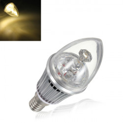 E14 Dimmable LED Bulbs 4.2W Warm White Candle Light Lamp 85-264V