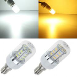 E14 LED-lampa 24 SMD 5630 4.5W Vit / Varmvit AC 85-265V