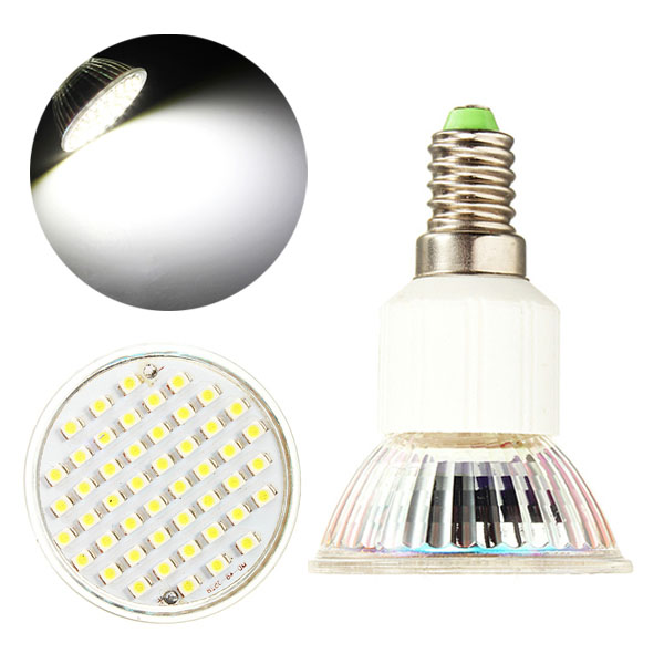 E14 LED Bulb 3W AC 220V 48 SMD 3528 White Spot Light Bulbs LED Light Bulbs