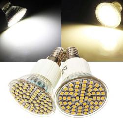 E14 LED Bulb 5W AC 110V 60 SMD 3528 White/Warm White Spot Light
