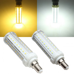 E14 LED Bulb 9W White/Warm White 60 SMD 2835 Corn Light Lamp 110-240V