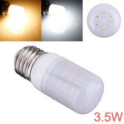 E26 3.5W 48 SMD 3528 AC 220V LED Lampa med Frosted Cover