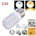 E26 3.5W White/Warm White 380LM 5730SMD 24 LED Corn Light Bulbs AC110V LED Light Bulbs
