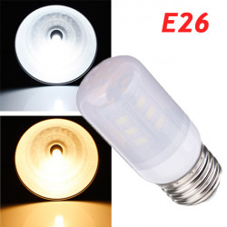 E26 3.5W White/Warm White 380LM 5730SMD 24 LED Corn Light Bulbs AC220V