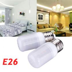 E26 3.5W Vit / Varmvit 5730SMD 420LM LED Lampa 220V