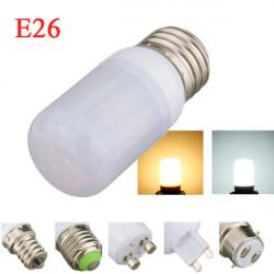 E26 4W White/Warm White 5730SMD LED Corn Bulb Light Ivory Cover 220V