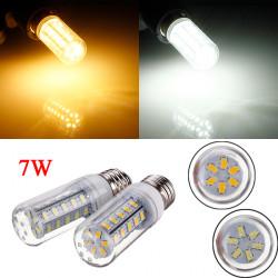 E26 7W 650LM Weiß / Warm White 5730 SMD 36 LED Mais Glühlampe 220V