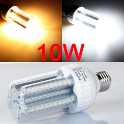 E27 10W LED Corn Light Bulb Lamp White/Warm White 60 SMD2835 90-260V