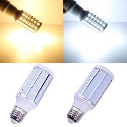 E27 10W Varmvit / Vit 60 SMD 2835 220-240V LED Corn Light Bulb