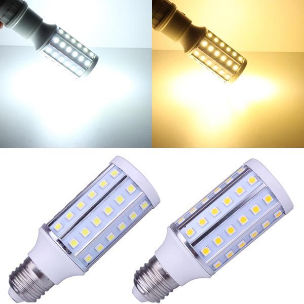 E27 10W Warmweiß / Weiß 60 SMD 5050 220 240V LED Mais Glühlampe LED Lampen