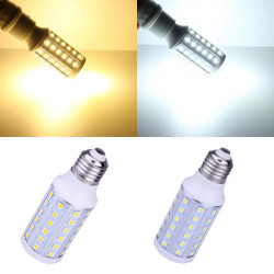 E27 10W Warm White/White 60 SMD 5050 85-265V LED Corn Light Bulb