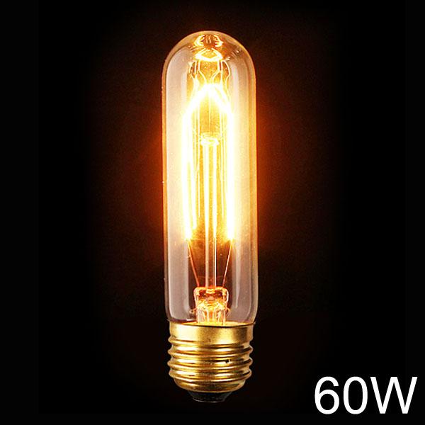 E27 110V / 220V 60W T10 Jahrgang Edison Glühfaden Glühlampe LED Lampen