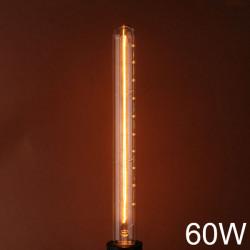 E27 110V / 220V 60W T30 300MM Jahrgang Edison Glühfaden Glühlampe