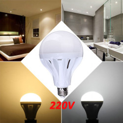 E27 12W 45 SMD 2835 Pure White/Warm White LED Globe Light Bulb 220V