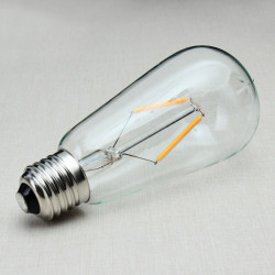 E27 135mm ST58 2W Retro LED Filament Edison Glühlampe 220V