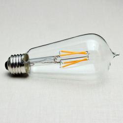 E27 135mm ST58 4W Retro LED Filament Edison Lamp Lys Pære 220V