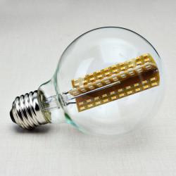 E27 140mm G80 3W Cross Retro LED Glödlampor Edison Lampa Glödlampa 220V