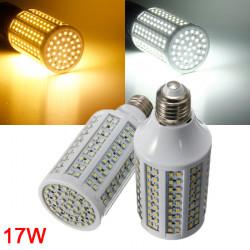 E27 17W Vit / Varmvit 3528 SMD 216 LED Glödlampor 220V