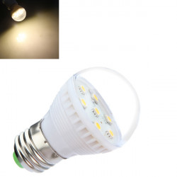 E27 2.5W Warm White 7 SMD 5050 LED Light Bulb Lamp 110-240V