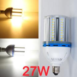 E27 27W LED Corn Light Bulb Lamp White/Warm White 81 SMD5630 90-260V