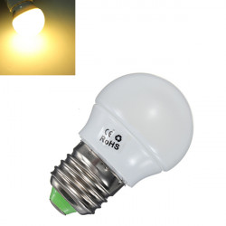 E27 2W 170LM Warm White Energy Saving LED Light Lamp Bulbs 85-265V