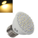 E27 2W 200LM Varm Hvid 38 LED Sparepære Spotlampe Pære 220V LED-pærer