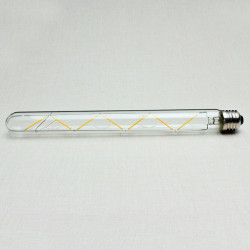 E27 300mm T30 7W Retro LED Filament Edison Lamp Light Bulb 220V