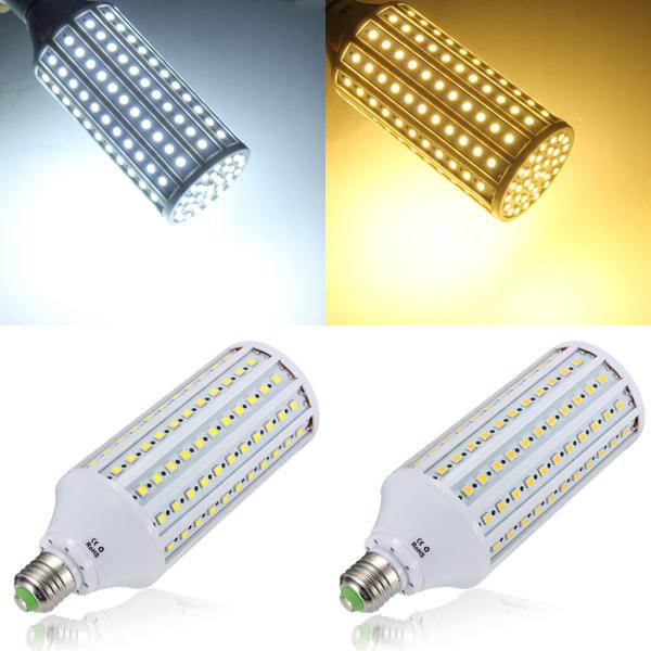 E27 30W 5050 165SMD Weiß / Warm White LED Mais Glühlampe AC 110 V LED Lampen