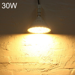 E27 30W SMD5730 220V 60LED High Power LED-lampa Verkstad Lampa