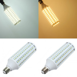 E27 30W White/Warm White 132LED SMD5630 LED Corn Light Lamp Bulb 220V