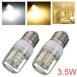 E27 3.5W 420LM 27 SMD 5730 AC 220V White/Warm White LED Corn Bulbs