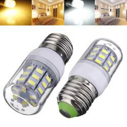 E27 3.5W 420LM AC220V Vit / Varmvit SMD 5730 LED Lampa