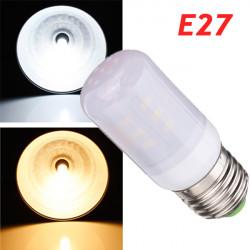 E27 3,5 W Hvid / Varm Hvid 380LM 5730SMD 24 LED Corn Pærer AC220V