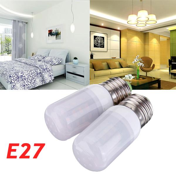 E27 3.5W weißes / warmes Weiß 5730SMD 420LM LED Mais Glühlampe 220V LED Lampen