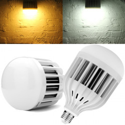 E27 36W 3600LM SMD5730 Varmvit / Vit High Power LED-lampa 220V