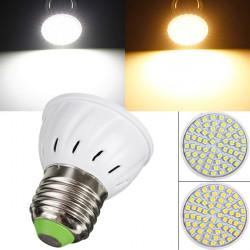 E27 3W 220V 60 SMD 3528 weiße / warme weiße LED Punkt Glühlampe