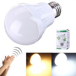E27 3W 5730SMD LED Induktions Lampe Stimme und Lichtsteuerung 110 220V