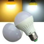 E27 3W LED Birne 20 SMD 5050 warmes Weiß / Weiß 220V AC Kugel Licht LED Lampen