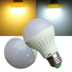 E27 3W LED Bulb 20 SMD 5050 Warm White/White AC 220V Globe Light