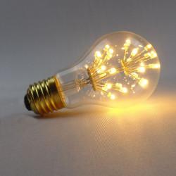 E27 3W LED Bulb Warm White 220V A60 Edison Style Light Bulb