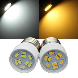 E27 3W LED Lamper 9 SMD 5630 AC 220V Hvid / Varm Hvid Spotlampe