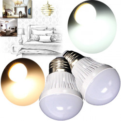 E27 3W SMD 2835 White/Warm White LED Light Bulb AC 220V