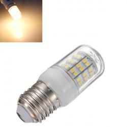 E27 3W Varm Hvid 60 SMD 3528 LED Corn Pære 220V