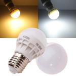 E27 3W Warm White/White Energy Saving LED Light Bulb 220V LED Light Bulbs