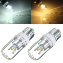 E27 3W White/Warm White 180-300LM 5730 SMD LED Light Corn Bulb 85-265V