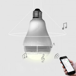 E27 3W Wireless Bluetooth 3.0 Audio Speaker LED Smart Bulb AC 100-240V